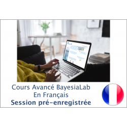 Advanced BayesiaLab Course (Pre-Recorderd) - In French